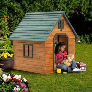China My First Cottage Wooden Play House on sale