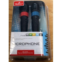 4in1 wired karaoke microphone for PS2/ PS3/ Wii/ XBOX360/ PC
