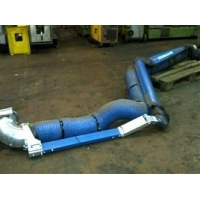 Kemper and Nederman arms 3m and 5m welding Fume Extraction Arms with Wall Mounting Brackets