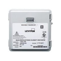 Leviton/IMS Mini-Meter Compact Electrical Meter with Outdoor Weatherproof Enclosure