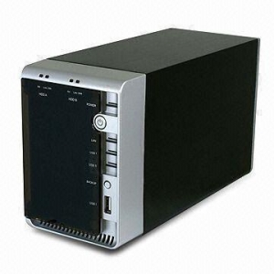 China Hard Disk Enclosure Gigabit SATA NAS on sale