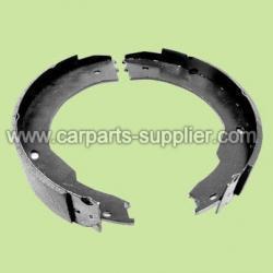 China Semi-metallic brake shoe on sale