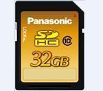 China Panasonic MLC SDHC Memory 32GB Class 10 on sale