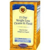 Natures Secret 15-Day Weight Loss Cleanse & Flush 60Tabs