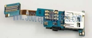 China BlackBerry Pearl Flip 8220 SIM card micro-SD slot flex cable on sale