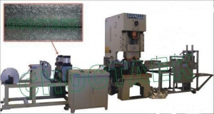 China Embossing aluminium foil container production line on sale
