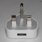 China UK USB Mains Charger Adapter Plug For Apple iPhone on sale