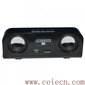 China HS-104 New design black digital mini speaker on sale