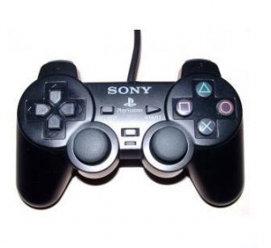 China PS2 Copy Black joystick supplier