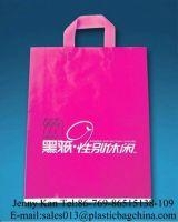 China Plastic Handle Bags, Plastic Shopping Bags on sale