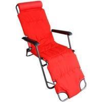 Beach Chair Red Zero Gravity Beach Chair