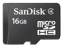 China Micro SD Cards Sandisk 16GB Micro SDHC Card on sale