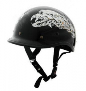 China DOT POLO EX STYLE ALIEN MOTORCYCLE HELMET on sale