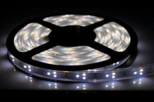 China Tri-colors SMD3528 flexible led strip on sale