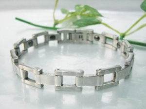 China Stainless Steel Magnet Bracelets on sale