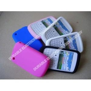China phone cover mobile case Blackberry 8520 silicone phone protector on sale