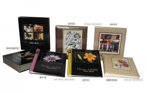China Self-adhesive photo album on sale