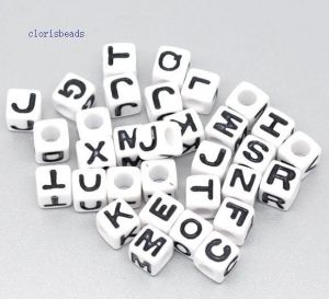 China alphabet beads on sale
