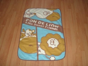 China Baby blanket Cute cartoon baby blanket on sale