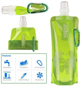 China Foldable water bottle on sale