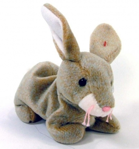 China Easter Toys Grey Rabbit Soft Toy on sale