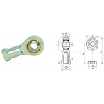 Ball joint rod ends series