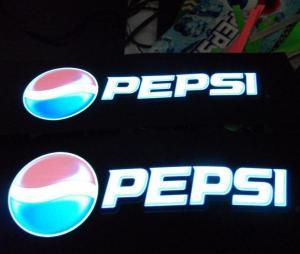 China Pepsi EL poster /EL display on sale