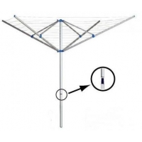 China 4 Arm Rotary Washing Line 60M rotary washing line on sale