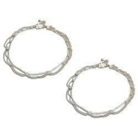 Anklets Sterling Silver Anklet Foot Jewelry 10.25 inches