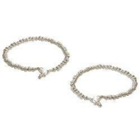 Anklets Anklet Chains Sterling Silver Foot Jewelry 10.5 inches