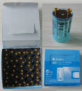China K1201 25pcs fluorescent lamp starter stocks on sale