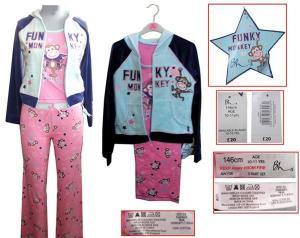 China A9918B 3pcs girl's wear set on sale