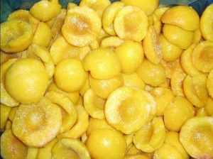 China canned yellow peach on sale