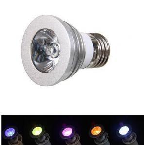 China LS405 E27 1X3W LED RGB Spot Light on sale