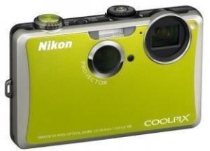 China wide angle projector lens Nikon Coolpix S1100PJ Digital Camera Green on sale