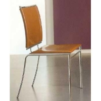 China Chrome & Leather Chairs on sale