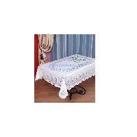 Warp knitting table cloth