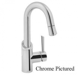 China Jado 800/830 Coriander Bar Faucet with Pullout Spray, Single Handle and Swivel Spout on sale