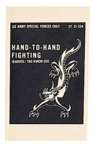 China US Army Special Forces Hand to Hand Fighting Manual on sale