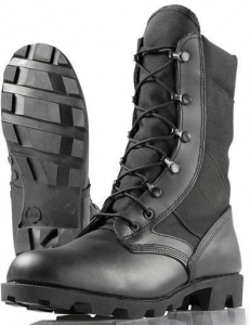 China Military Jungle Boots Panama Combat Boot Black on sale