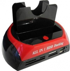 China HDD Docking with 2port hub and card reader Model:YPH-H-003 on sale