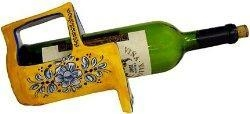 China Terrafirma Ceramics Chardonnay Wine Bottle Holder on sale