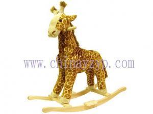 China Plush animal rocker on sale