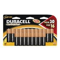 Duracell AA Size Battery MN1500B20Z - 20 Pack