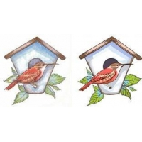China Vector art for bird's nest and house_5 service for your team logo,Uniforms on sale