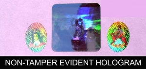 China Non Tamper Evident Hologram on sale