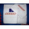 China 100% cotton jacquard towel for sale