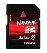 China 32GB SDHC CLASS 10 FLASH CARD (SD10/32GB) on sale