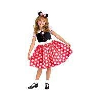 Disneys Mickey Mouse Clubhouse Minnie Mouse Classic Childs Costume