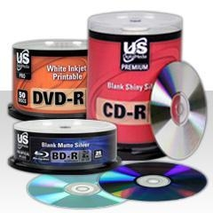 China Blank CD/DVD/Blu-ray Media on sale